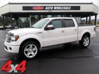 Elegantly expressive, this 2011 Ford F-150 being 1 of
