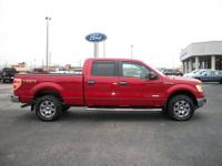 Loaded, 2011 Ford F150 CrewCab 4x4 Ecoboost. Red/Tan.