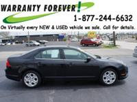 2011 Ford Fusion 4 Dr Sedan SE Our Location is: Roper