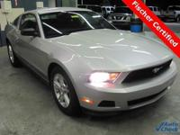 2011 Ford Horse Coupe. ** Silver metallic with Stone