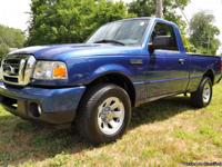 2011 FORD RANGER 4X4 REG CAB A/C AUTOMATIC LIKE NEW!