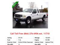 2011 Ford Ranger Truck Oxford White I4 2.3L Gas RWD