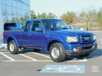 2011 Ford Ranger SuperCab SPORT 2 Wheel Drive With 6