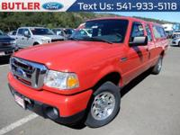 New Price! Red 2011 Ford Ranger XLT RWD 5-Speed Manual