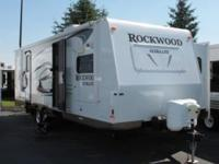 2011 Forest River Rockwood 2608. Pre-Owned Certified