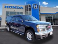 Navy Blue 2011 GMC Canyon SLE1 4WD 4-Speed Automatic