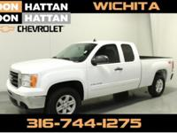 Summit White 2011 GMC Sierra 1500 SLE 4WD 6-Speed