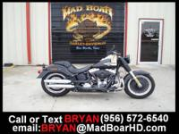 Stock #:042942 Year:2011 Model:FLSTFB Name:Softail Fat