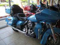 New for 2011 is the Harley-Davidson Touring Road Glide