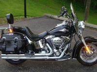 2011 Harley Davidson Softail with 9737 careful miles.