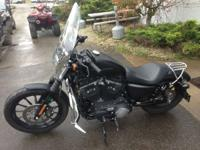 Motorcycles Sportster 752 PSN. For a mix of design and