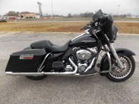 New for 2011 the Harley Street Glide FLHX has a 2-1-2