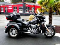 When touring on trike bikes, the Harley Tri Glide