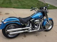 2011 HD Fatboy with less than $6K miles on it... it's