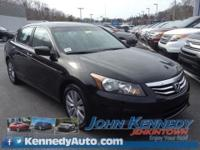 Accord EX-L, 2.4L I4 DOHC i-VTEC 16V, Crystal Black