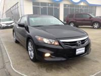 Drive in style with this Honda Accord EX-L V6 Coupe.