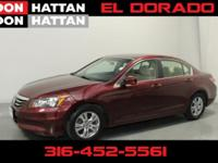 Basque Red Pearl 2011 Honda Accord LX-P 2.4 FWD 5-Speed