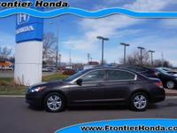 Honda Accord Sale This week at Frontier Honda Longmont