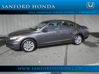 Accord EX 2.4 Honda Certified and 4D Sedan. Talk about