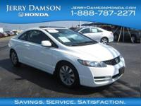 CARFAX 1-Owner. EX trim. EPA 36 MPG Hwy/25 MPG City!,