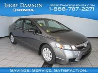 DX-VP trim. CARFAX 1-Owner, LOW MILES - 18,255! FUEL