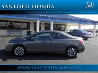 Civic EX Honda Certified 2D Coupe Compact 5-Speed