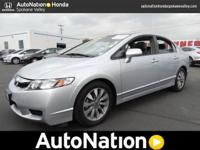 This 2011 Honda Civic Sdn EX-L is provided to you for