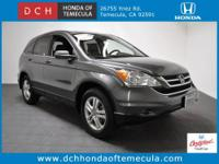 The perfect CR-V EX-L, Honda Certified, and 28 mpg!!.