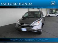 CR-V EX-L 5-Speed Automatic AWD Grey Leather LEATHER***