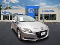 RARE FIND!!! Honda Certified, One Owner CR-Z EX with