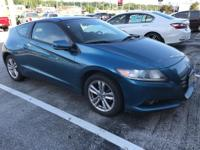 This 2011 Honda CR-Z EX is proudly offered by Honda