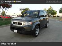 This 2011 Honda Element LX is provided to you for sale