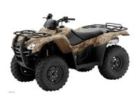 JUST ARRIVED The FourTrax Rancher AT brings a true
