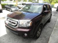 We just received this Honda Pilot 2011 EXL with only