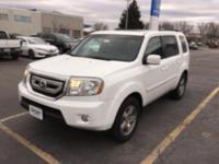 This outstanding example of a 2011 Honda Pilot EX-L is