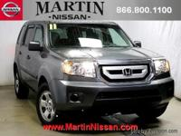 This 2011 Honda Pilot LX is offered to you for sale by
