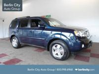 Factory Certified 2011 HONDA PILOT EXL 4WD,one