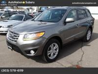 This outstanding example of a 2011 Hyundai Santa Fe SE