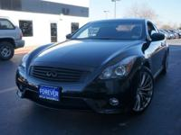 This 2011 Infiniti G37 Coupe Sport 6MT is proudly