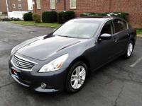 This outstanding example of a 2011 INFINITI G25 Sedan x