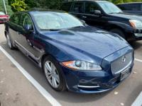 Spectrum Blue 2011 Jaguar XJ XJL RWD 6-Speed Automatic