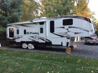 This 35' Fifth Wheel Is Loaded. Considered The King Of