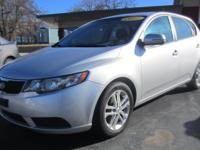 This is a very nice 2011 Kia Forte EX.  It is a 4