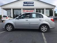 2011 Kia Rio 4D Sedan LX Silver FWD 4-Speed Automatic