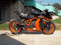 Make: KTM Model: Other Mileage: 1,400 Mi Year: 2011