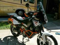 "2011 KTM Adventure ""R""  Take the best and most"