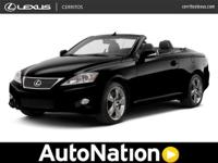 Lexus of Cerritos is pleased to be currently offering