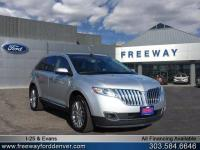 Ingot Silver Metallic 2011 Lincoln MKX AWD 6-Speed
