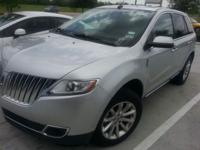2011 Lincoln MKX SUV..LUXURY CAR..74000 miles... drives