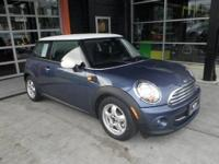 EPA 37 MPG Hwy/29 MPG City! CARFAX 1-Owner, MINI